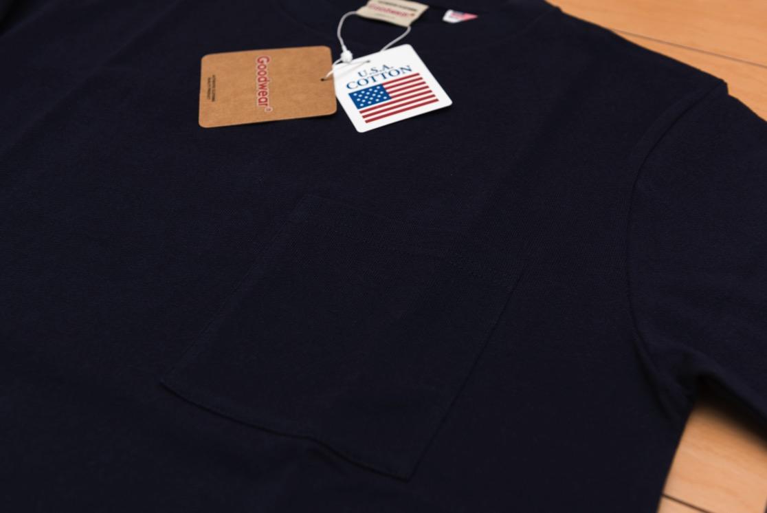 Goodwear グッドウェア ポケットTシャツ