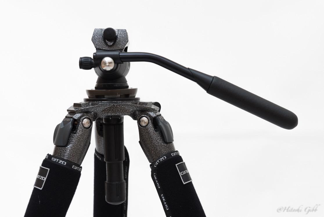 ビデオ雲台(GITZO / G2180)で重心バランスを探る