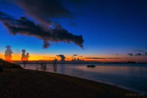 瀬長島の夕日